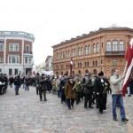 Desfile de ex SS letonas en Latvia molesta a los rusos