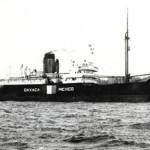 Hundimiento del SS Oaxaca por el submarino U-171