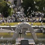 50 mil personas conmemoran aniversario de bombardeo de Hiroshima