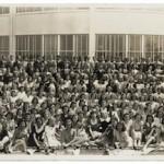 Rara foto tomada en 1941 de la secundaria de Marilyn Monroe puesta en subasta