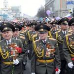 Celebran el Día de la Victoria en Moscú