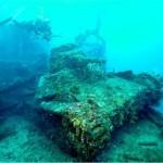 Fotógrafo capta deterioro en naves japonesas hundidas en el 'segundo Pearl Harbor'