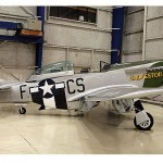 Muere piloto y pasajero en accidente de P-51 de la Segunda Guerra Mundial