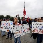 Protesta de veteranos en Washington