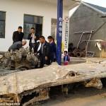 Pescadores chinos encuentran bombardero B-25 de la Segunda Guerra Mundial en el río Yangtze