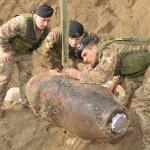 Encuentran bomba de 1800 kilos en Vicenza, Italia
