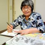 Con sus dibujos mujer de Tokio comparte recuerdos de la guerra