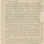 Carta de Gandhi a Roosevelt, pidiendo apoyo para la independencia India
