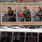 Independentistas ucranianos utilizan carteles de la Segunda Guerra Mundial para reclutar combatientes