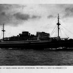 Noviembre de 1939, mina hunde buque de naviera japonesa