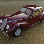Alfa Romeo 1939 que fue propiedad de Clara Petacci a subasta en París