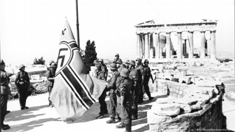 prestamo grecia alemania nazi