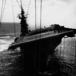 Viejas fotos del USS Franklin, bombardeado durante la Segunda Guerra Mundial