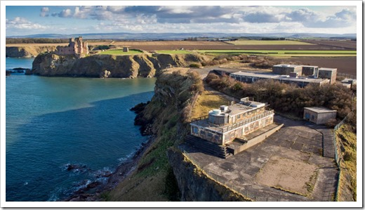 366693-gin-head-and-tantallon-castle-former-radar-station-quality-news-image-from-swns-uplaoded-sepmeber-7