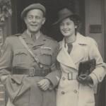 La Cruz George de Violette Szabó en exhibición en el Imperial War Museum