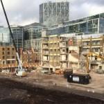 El Mercado de Spitalfields en Londres es evacuado por bomba encontrada por constructores