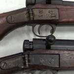 Fusil japonés plegable para paracaidistas