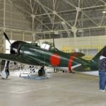 Caza Cero vuela sobre Tokio por primera vez desde la guerra