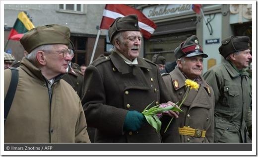 Latvia-Waffen-SS-veterans