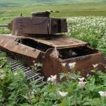Tanque japonés de la Segunda Guerra Mundial encontrado en las Kuriles será expuesto en museo