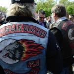 """Motociclistas rusos """"Los Lobos de la Noche"""" cruzan la frontera alemana rumbo a Berlín"""