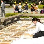 Ventilan libros con nombres de muertos en ataque nuclear en Hiroshima