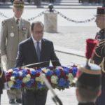 Francia conmemora el fin de la Segunda Guerra Mundial