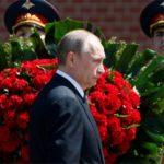 Ofrenda de Putin en Tumba del Soldado Desconocido