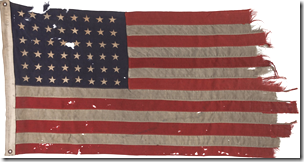 US-flag-from-Utah-beach