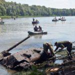 Recuperan tanque T-34 del lecho del Don en Rusia