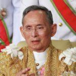 Tailandia anunció la muerte del Rey Mahidol Adulyadej