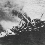 Ceremonia recordatoria del hundimiento de buques británicos en 1942