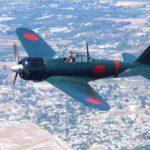 Un caza Mitsubishi Zero A6M volará nuevamente en japón