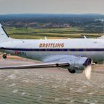 Douglas DC-3 de la Segunda Guerra Mundial volando alrededor del mundo