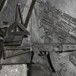 Enmiendan error en estatua de Kalashnikov con AK-47