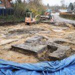 En Hamburgo, constructores encuentran enterrada gigantesca swastica