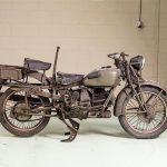 Ponen en subasta motocicletas Harley-Davidson y Guzzi de la Segunda Guerra Mundial