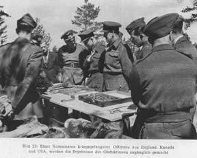 Oficiales aliado comisionados por el gobierno polaco