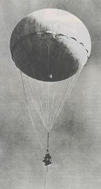 bomba en globo japonesa