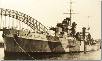 Crucero ligero HMAS Sydney