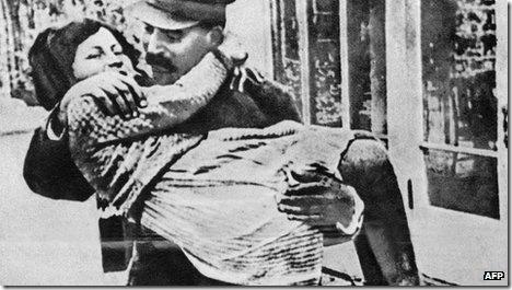Svetlana Alliluyeva, hija de Stalin