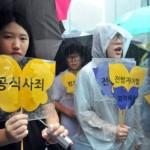 """Legisladores estadounidenses advierten a Abe no a revisar la disculpa sobre las """"mujeres de confort"""""""