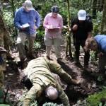 Equipo estadounidense en busca de restos de soldados muertos en Birmania