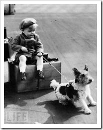 World-War-II-Refugee-Child-Hangs-Onto-His-Dog