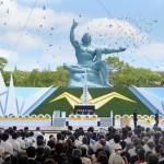 Nagasaki conmemora 69º aniversario del bombardeo nuclear
