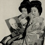 Afiche japonés de propaganda anti británica