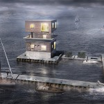 Remodelan torre de vigilancia utilizada durante la guerra para proteger planta alemana de torpedos experimentales