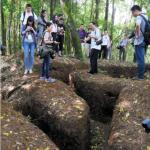 Muestran red de trincheras y fortificaciones japonesas en frontera entre China y Myanmar