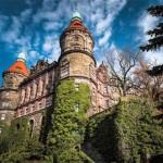 Cuartel General de la Wehrmacht en el Castillo Ksiaz en Polonia