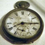 Reloj congelado en el tiempo desde 1945 por el bombardeo atómico en Hiroshima